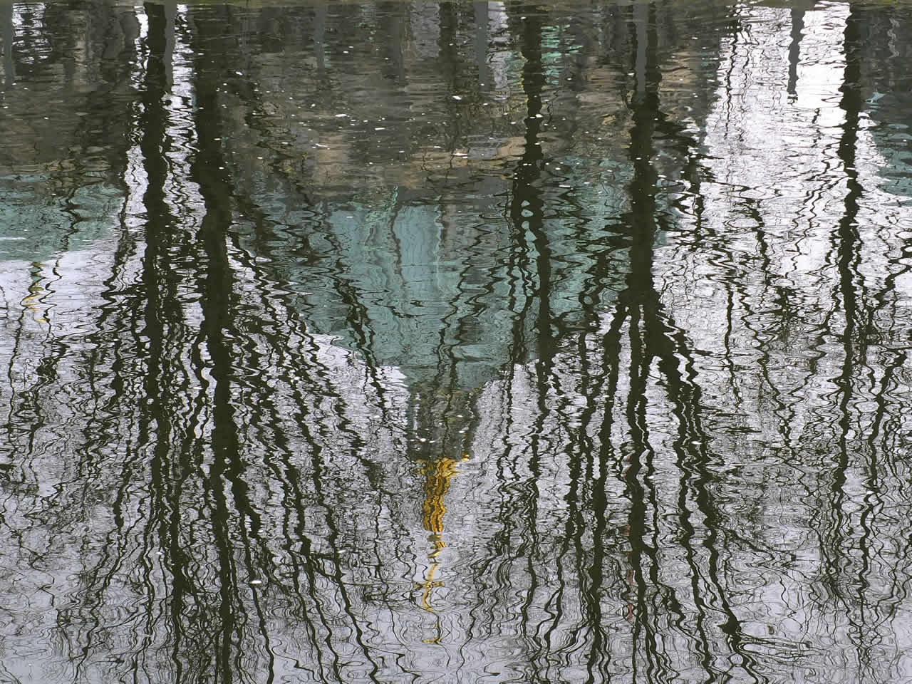 Photo: Reflection, Berliner Dom