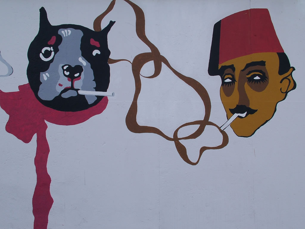 Photo: Berlin Wall Art 7/2009