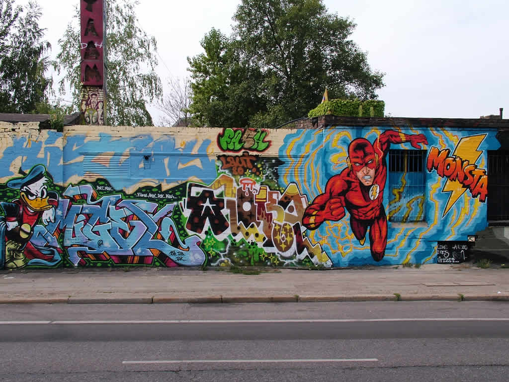 Photo: Berlin Wall Art 8/2009