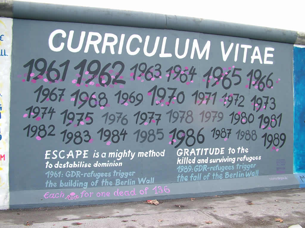Photo: Berlin Wall Art 12/2009