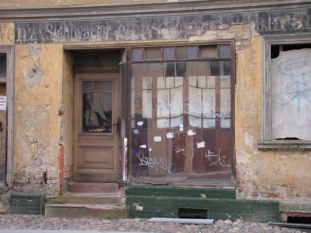 Photo: Old Shop Front  in Neuruppin Brandenburg