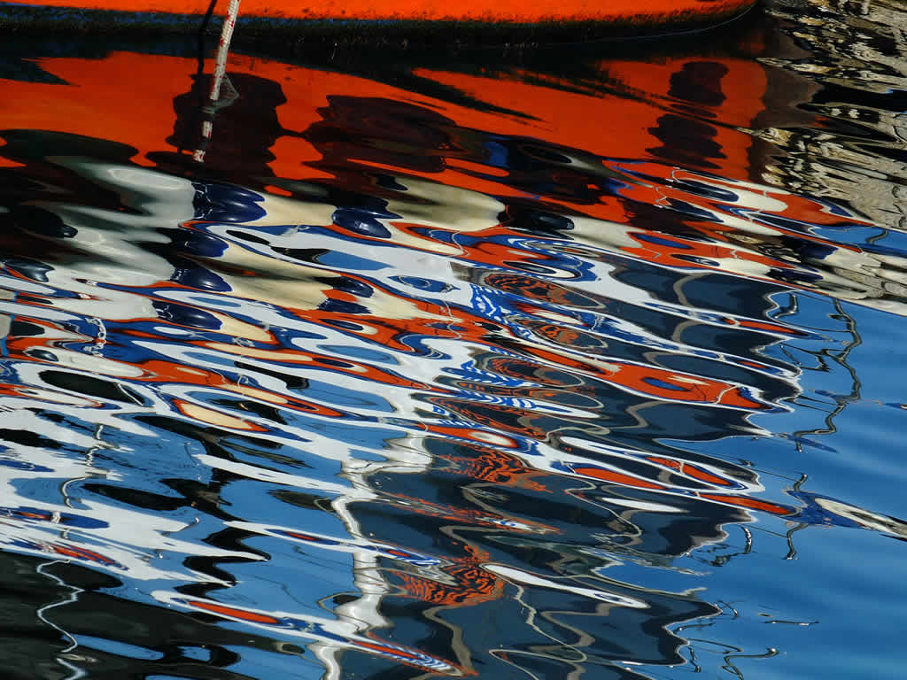 Photo: Reflections, Korcula