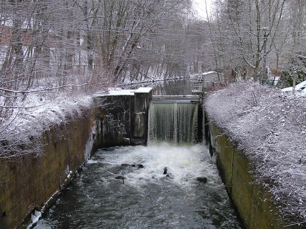 Photo: Old Canal Winter