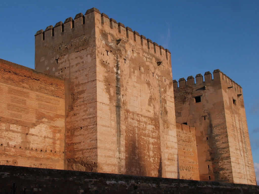 Photo: Torre del Homenaje, Alhambra, Granada