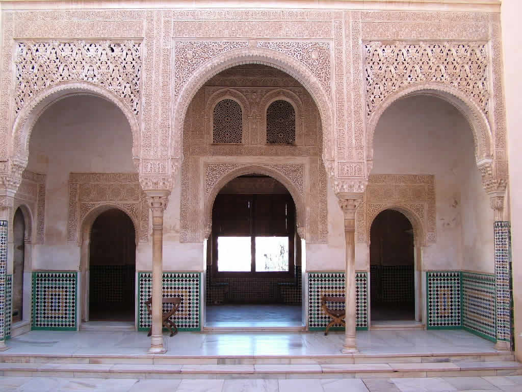 Photo: Palacios Nazaries, Alhambra, Granada