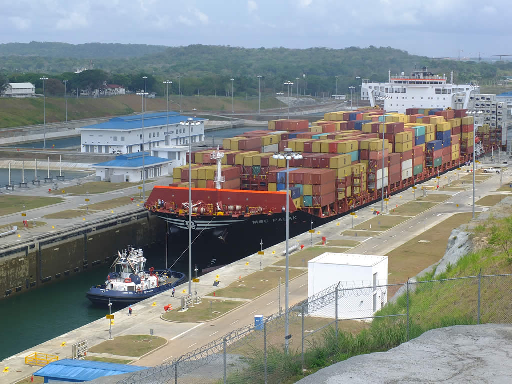 Photo: Gatun Locks, Panama