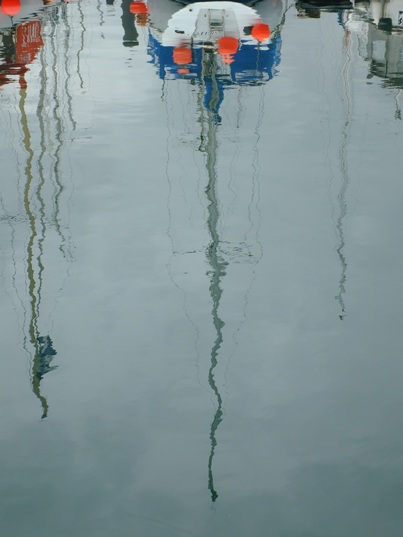 Photo: Reflections, Anstruther Harbour