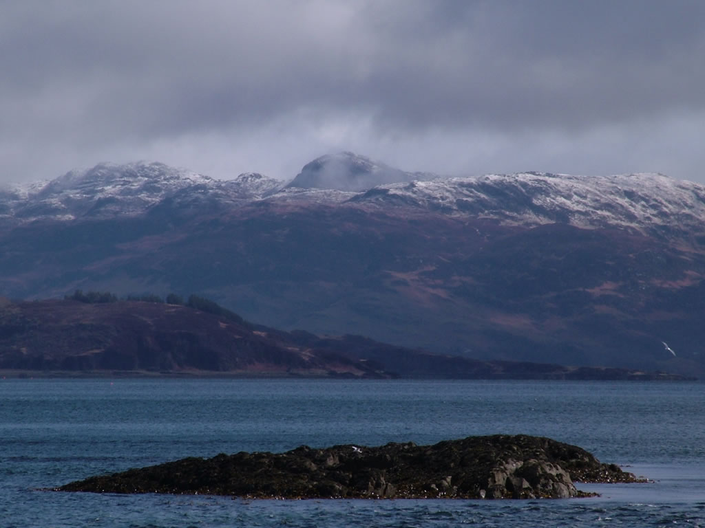 Photo: Isle of Scalpay? and the Cuillins on Skye