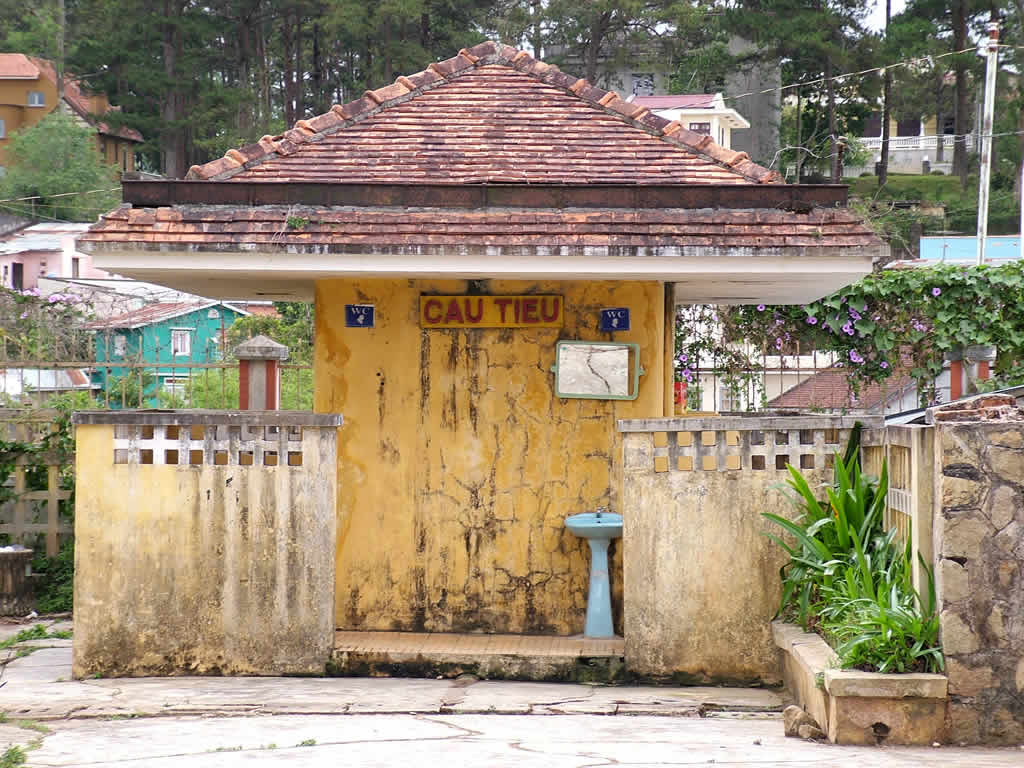 Photo: DaLat Station toilet