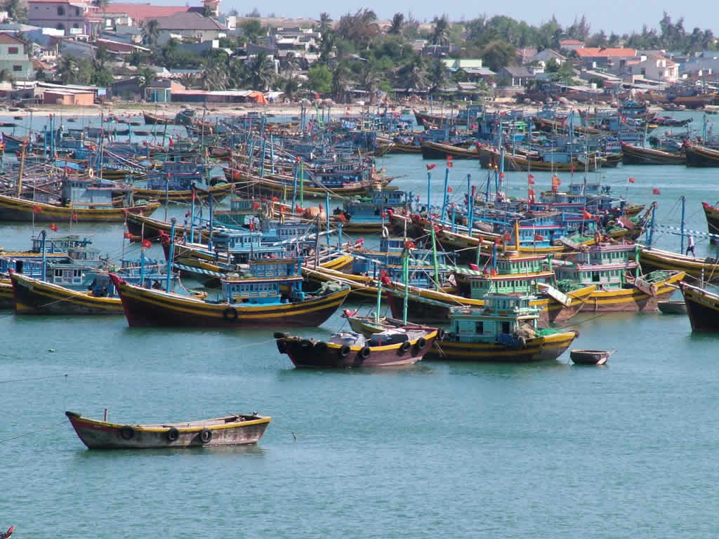 Photo: Mui Ne harbour