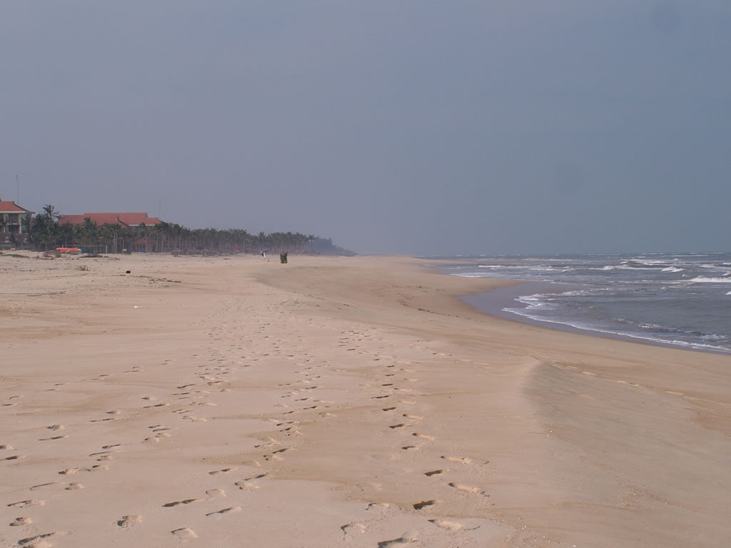 Photo: One of the beaches at Dong Hoi